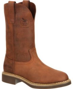 georgia boot women's carbo-tec pull-on work boots