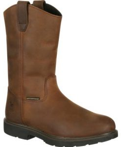 georgia boot suspension system waterproof wellington work boot