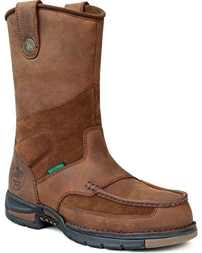 georgia boot men's georgia athens wellington work boot
