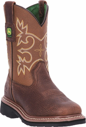 john deere children's pull on boot