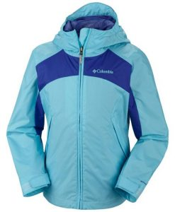 columbia girl's wet reflect jacket