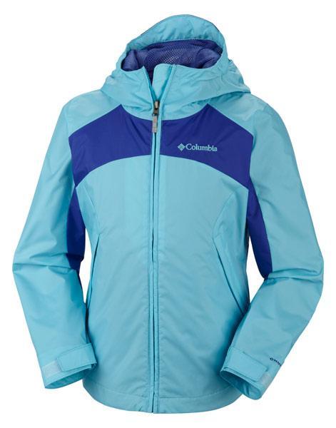 columbia girl's wet reflect jacket