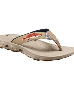 columbia men's techsun vent fishflip pfg flip sandal