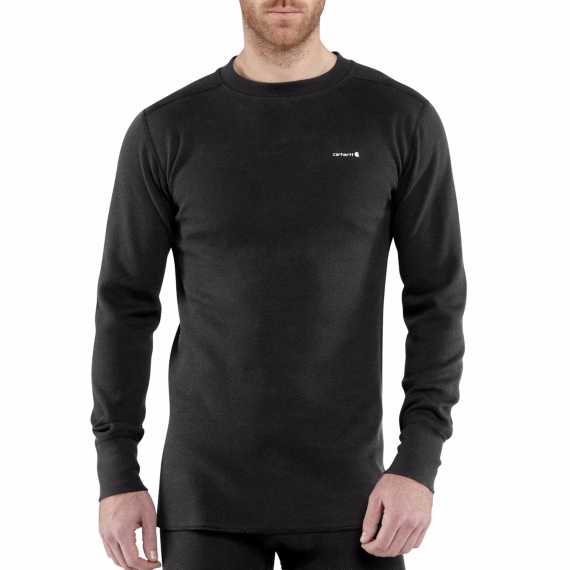carhartt base force cotton super-cold weather crewneck top