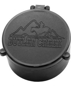 "butler creek flip open scope cover - 10 obj 1.500"" [38.1 mm]"