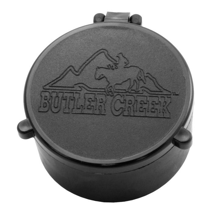 "butler creek flip open scope cover - 10 obj 1.500"" [38.1 mm]"