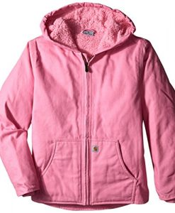 carhartt big girls' redwood jacket