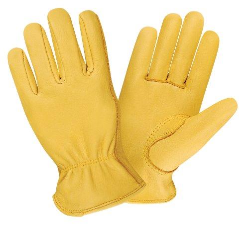 cordova 90001 premium grain deerskin driver gloves, large