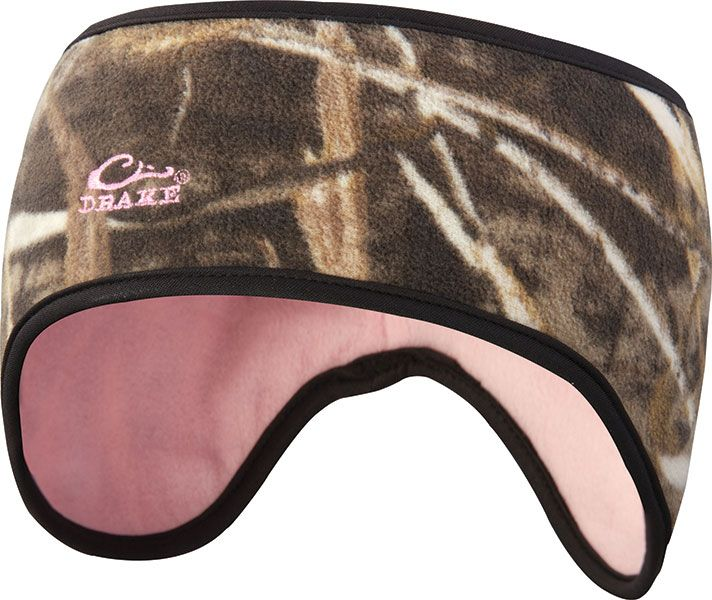 drake ladies reversible ear warmer