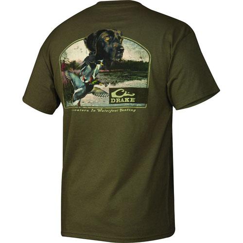 drake lab w/ ducks s/s t-shirt