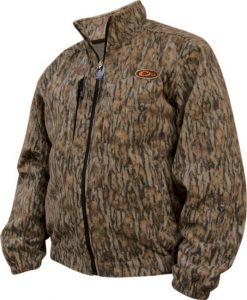 drake non-typical silencer windproof fleece coat