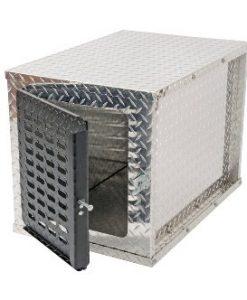dee zee dz91782 brite-tread aluminum specialty dog box