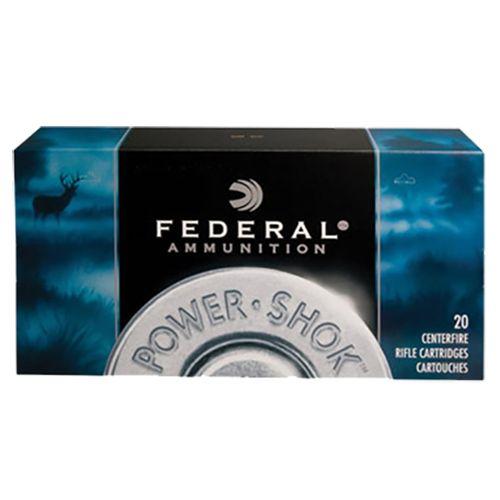 federal power-shok 6mm rem. 100 grain sp 20 rounds
