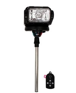 gobee golight stanchion mount with remote black