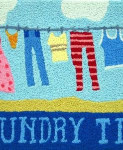 jellybean laundry time rug