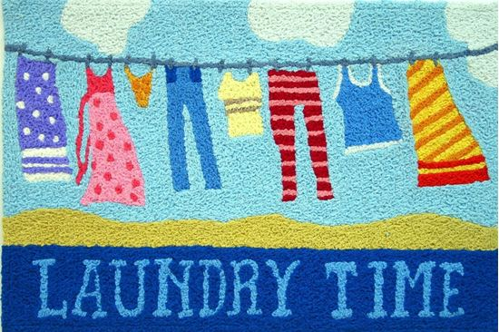 jellybean laundry time rug