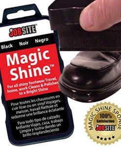 jobsite instant express leather boot & shoe shine sponge