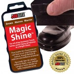 jobsite instant express leather boot & shoe shine sponge brown