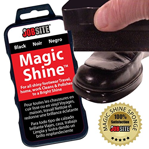jobsite instant express leather boot & shoe shine sponge
