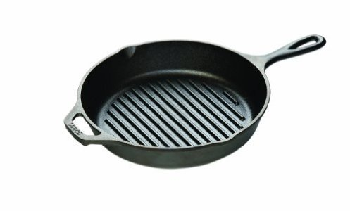 lodge logic cast-iron skillet grill pan