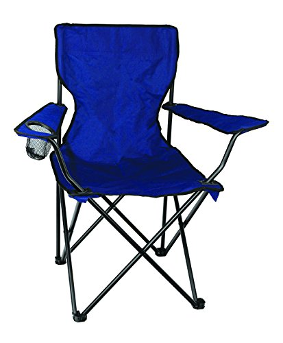 texsport bazaar folding camp picnic outdoor chair with drink holder