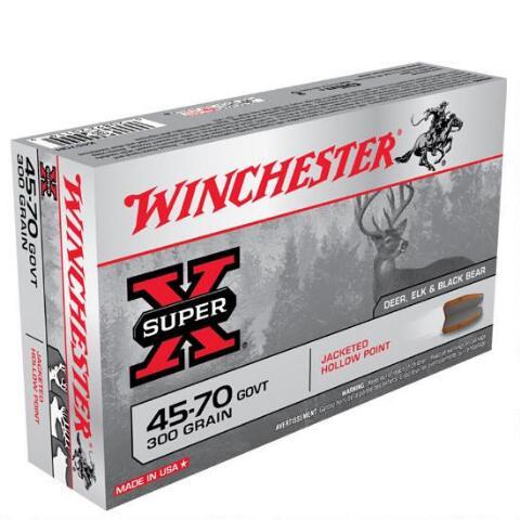 winchester® super - x® rifle .45-70 govt. 300 grain jhp
