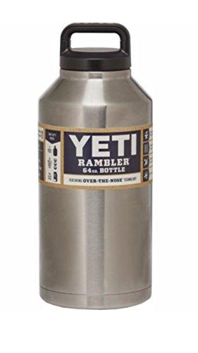 yeti rambler stainless steel tumbler bottle - 64 oz