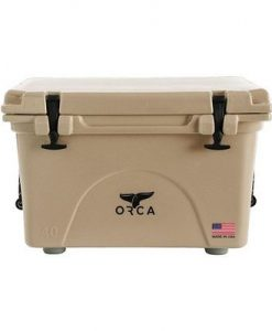 orca 40qt tan cooler