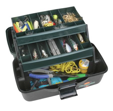 flambeau 2-tray classic tackle box
