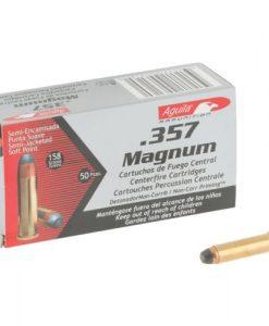 aguila ammo, .357 mag., sjsp, 158 grain