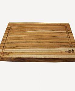 big green egg solid teak cutting board