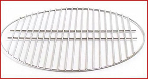 big green egg stainless cooking grate for extra large