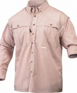 drake long sleeve wingshooter's micro plaid shirt