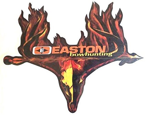 easton burning skull decal 6 x 4.75