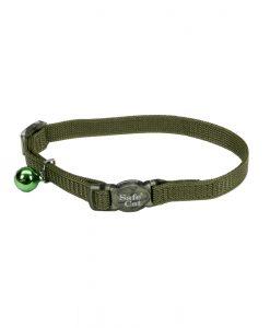 safe cat adjustable snag-proof nylon breakaway collar