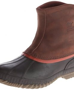 sorel men's cheyanne premium rain boot,madder brown