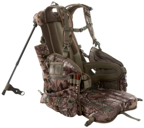 tenzing tz tp14 turkey backpack hunting vest with seat