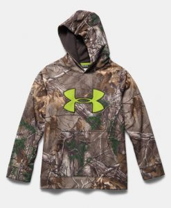 under armour boys' fleece scent control hoodie