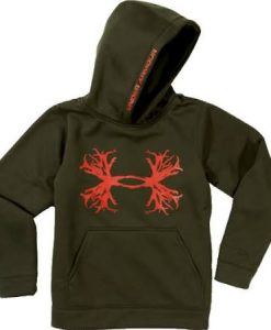 Under Armour Boys' Solid Antler Hoodie