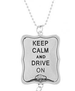 ganz car charm - keep calm and drive on
