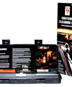 hoppe's shotgun cleaning kit and storage box