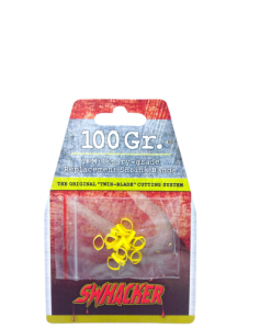 swhacker 100 grain broadhead replacement shrink bands 18 pk.