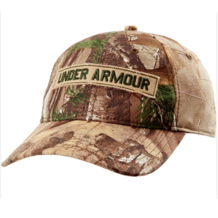 under armour men's heatgear camo cap