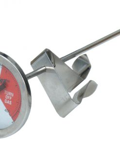 "bayou classic stainless steel 5"" thermometer"