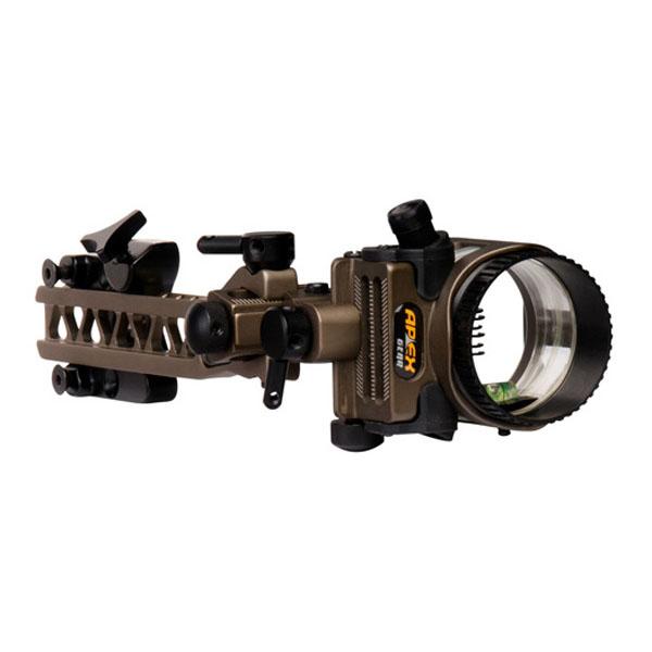 apex gear axim w/ micro push-button light & detachable bracket