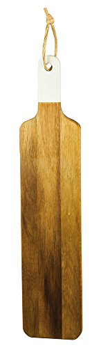 cypress home acacia wood baguette board