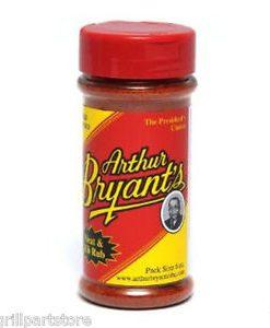 arthur bryant's rib rub old world spice dry rub 6 oz.