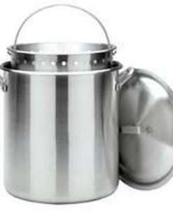 bayou classic 1200 120-quart aluminum stockpot with boil basket