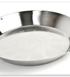 big green egg paella pan