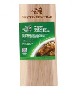 big green egg western red cedar grilling planks